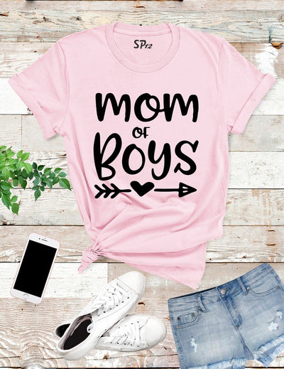 Mom Of Boys T Shirt