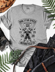 Motorcycles Built For Speed T Shirt