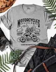 Motorcycles Land Speed T Shirt