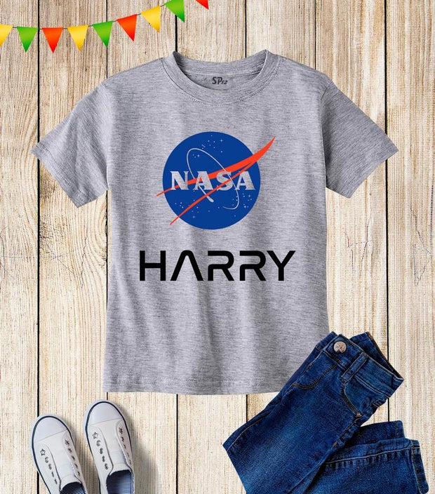 Nasa Personalization Kids T Shirt