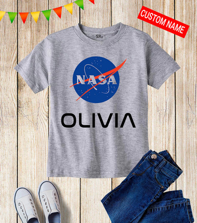 Nasa Personalized Kids T Shirt