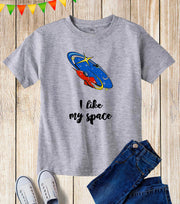 NASA Space Rocket Kids T Shirt