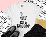 Not A Hugger T Shirt Cactus Gift Funny Introverted Tee