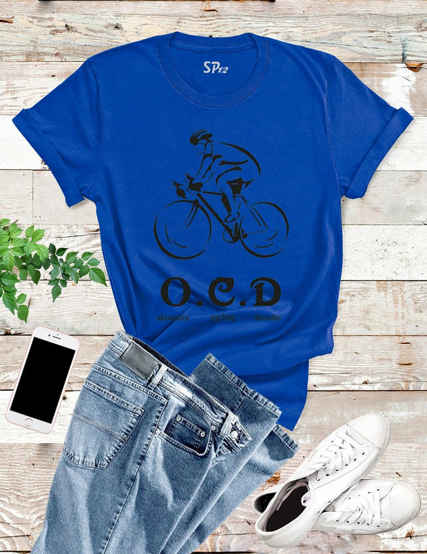 Obsessive Cycling Disorder Cycle T Shirt