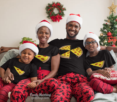 Pizza Slice Family Matching T Shirt