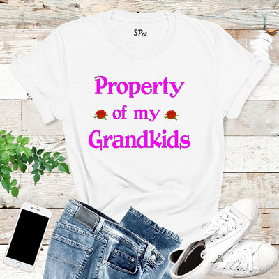 Property Of My Grandkids T Shirt