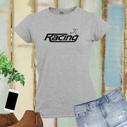 Racing Athletes Fitness Women T Shirt