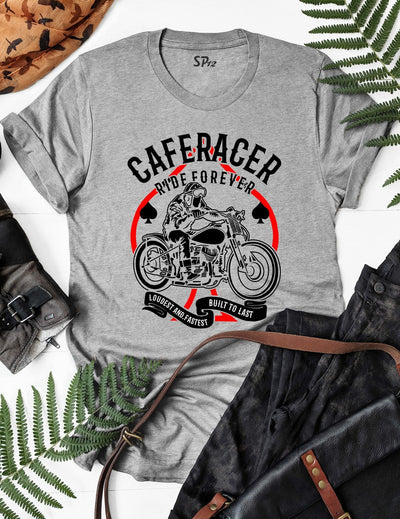 Riding A Cafe Racer T Shirt