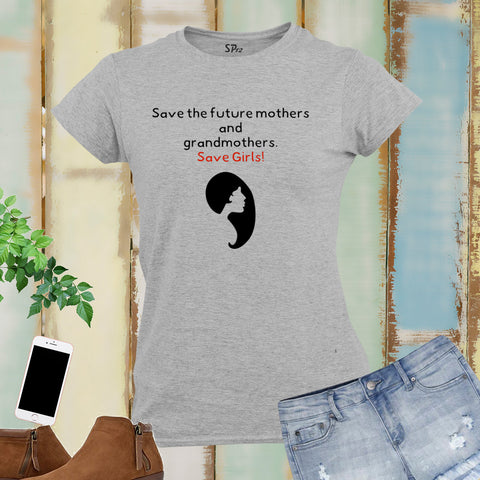 Save The Girls Awareness Women T Shirt