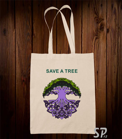 Save Tree Tote Bag