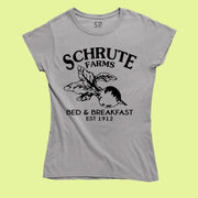 Schrute Farms Shirt The Office Funny T-Shirt Dwight Dundee bed and breakfast est 1912
