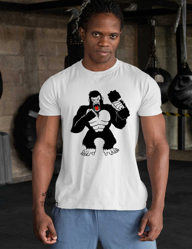 Strong Gorilla Crossfit T Shirt