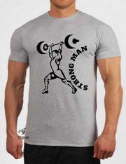 Strong Man Crossfit T Shirt