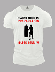 Sweat More In Preparation Boxer T Shirt