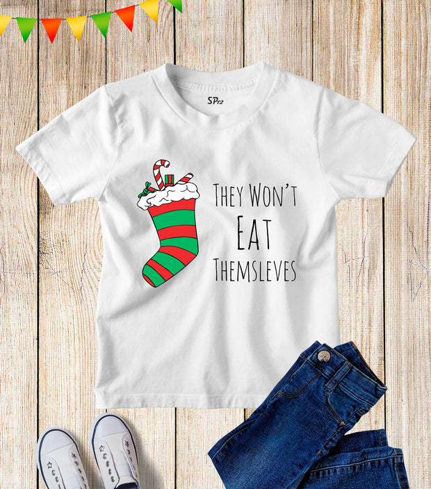 Sweets Treats Christmas Kids T Shirt