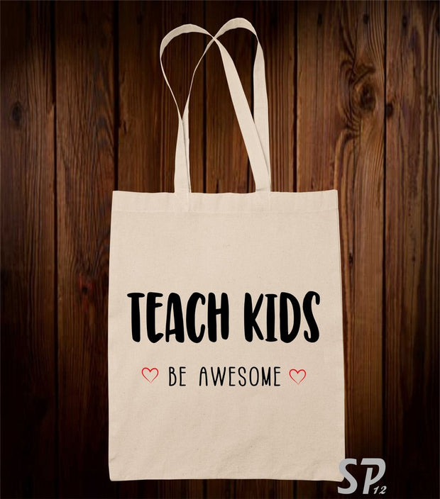 Teach Kids Tote Bag