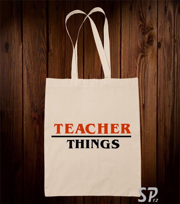 Teacher things Tote Bag