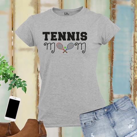 Tennis Mom Sports Women T Shirt