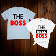 The Real Boss Matching T Shirt