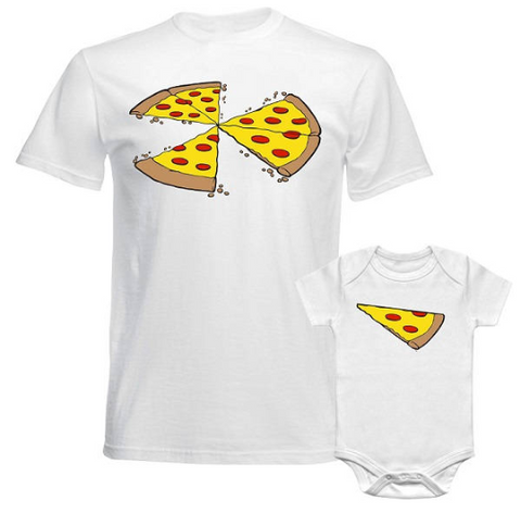 Three Pizza Slices Missing T Shirts