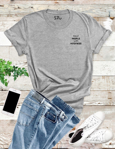 Treat People With Kindness Pocket T Shirt