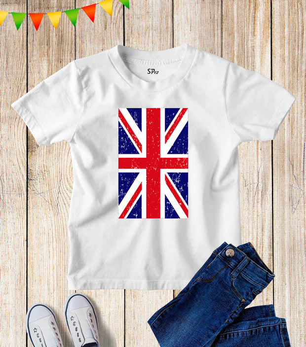 United Kingdom FlagKids T Shirt
