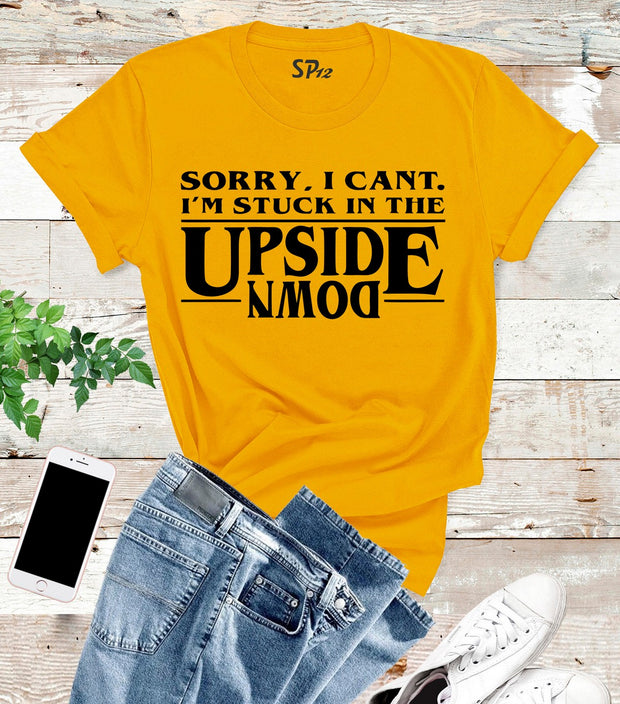 Upsite Down Movie Stranger Tv show T Shirt