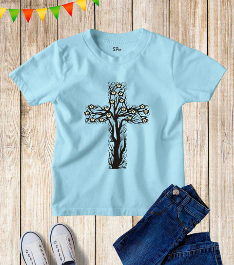 Vine And Branches Kids T Shirt