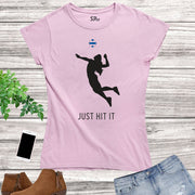 Volleyball Women Sports T Shirt