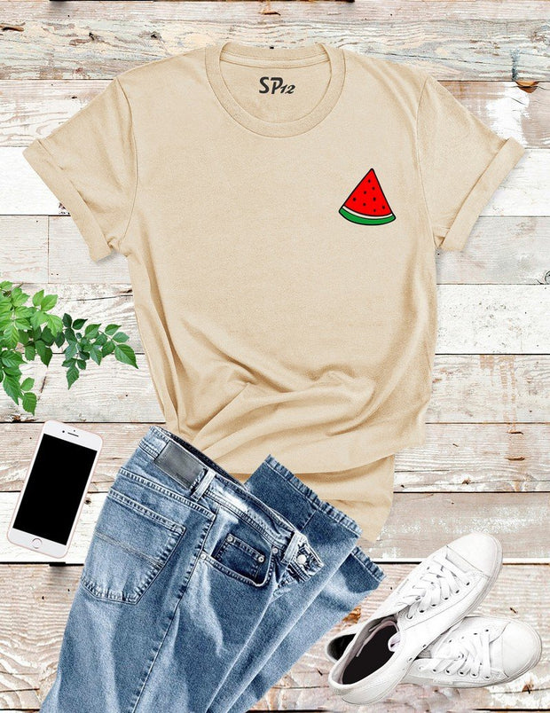 Watermelon Pocket T Shirt