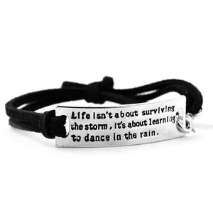 Inspiring Leather Bracelets - Whole Body Source