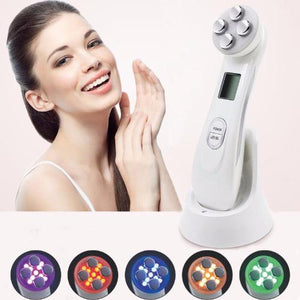 5-In-1 RF EMS Electroporation LED Light Therapy Device for Acne, Skin Tightening & Anti-Aging - Whole Body Source