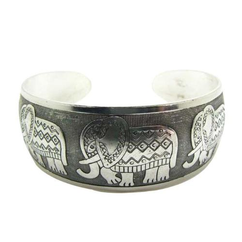 Elephant Tibetan Bangle Cuff - Whole Body Source