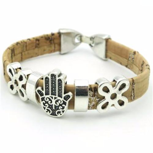 Handmade Cork Bracelet - 4 Designs - Whole Body Source