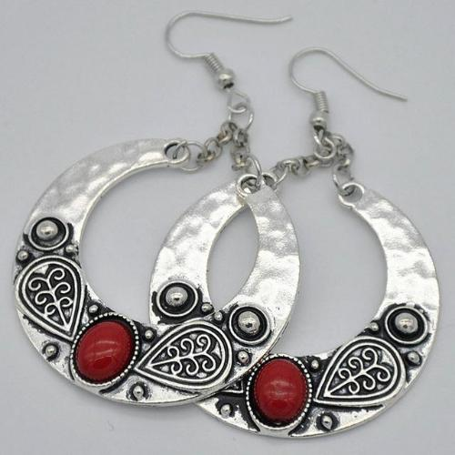 Vintage Boho Tibetan Big Drop Earrings - Whole Body Source