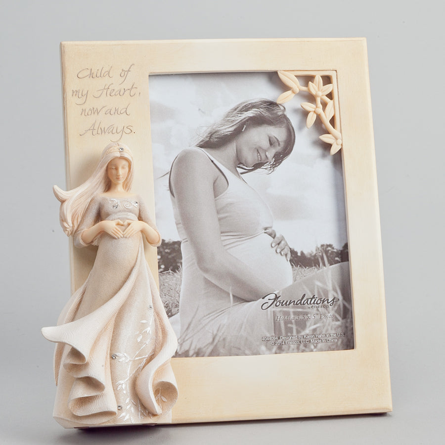 Expectant Mother Photo Frame - Foundations by Enesco