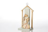 Nativity with Creche, Set of 2