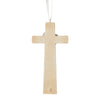 Nativity Cross Ornament