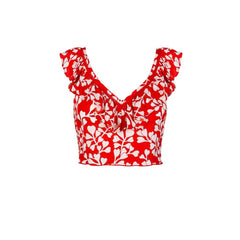 Beth Top - Azalea Red