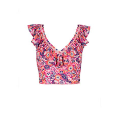 Beth Top - Pansy Pink