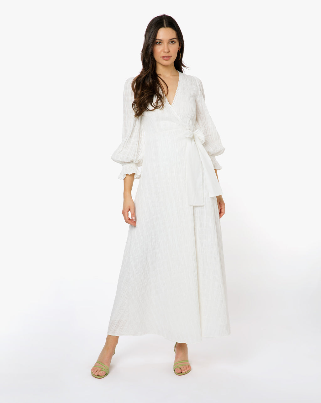 Camilla Dress - Solid White