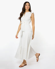 Emily Dress - Solid White