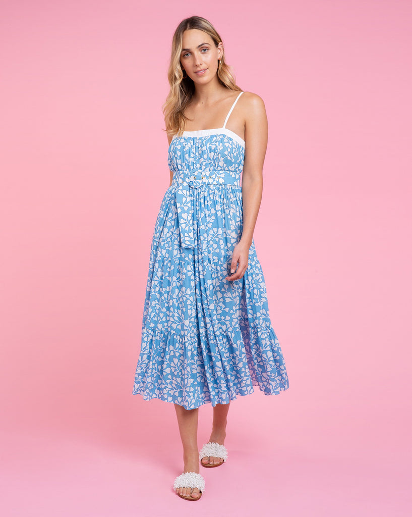 Erin Dress - Azalea Cornflower