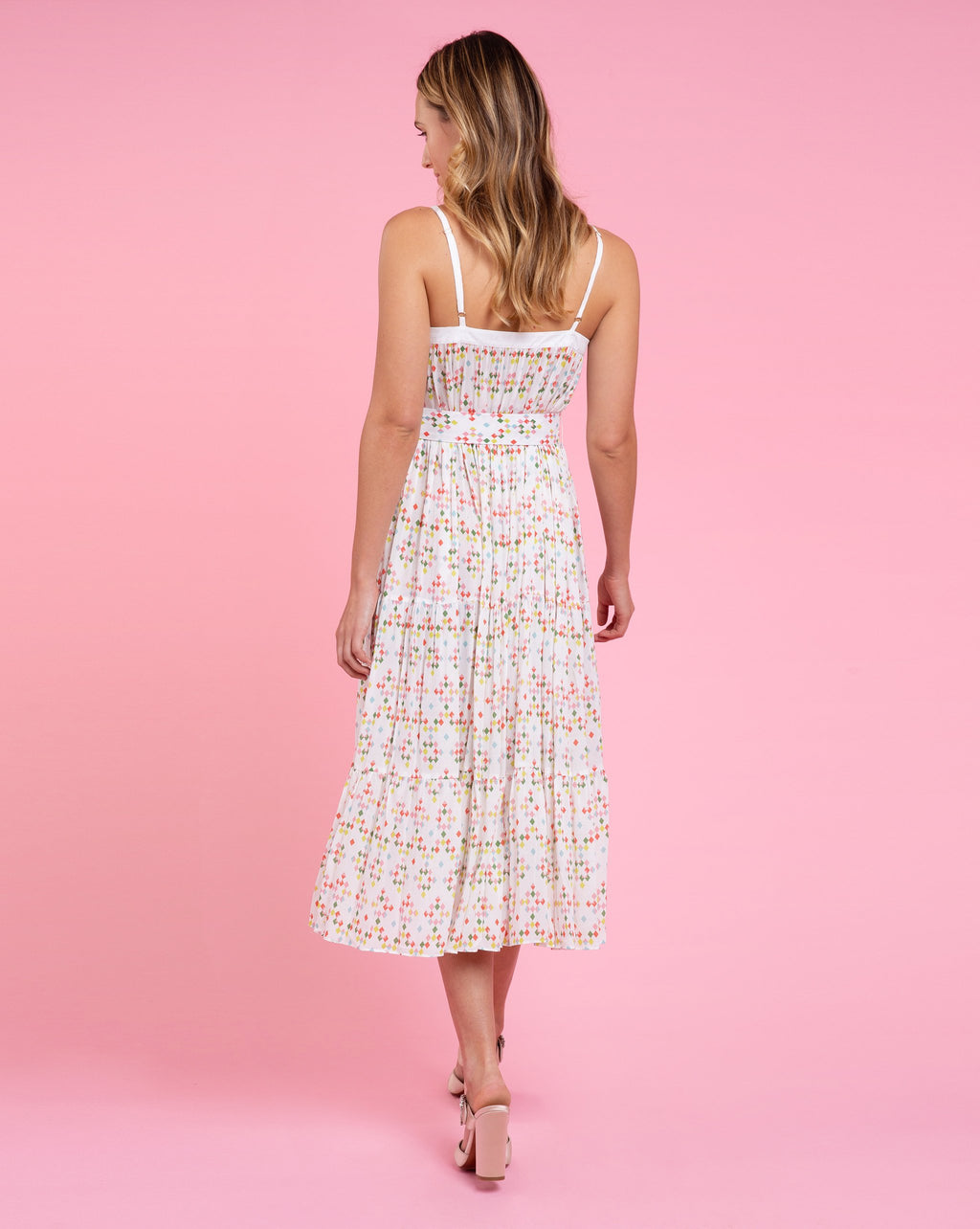 Erin Dress - Jewel White
