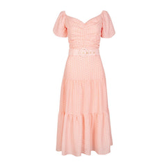Evie Dress - Loop Rose