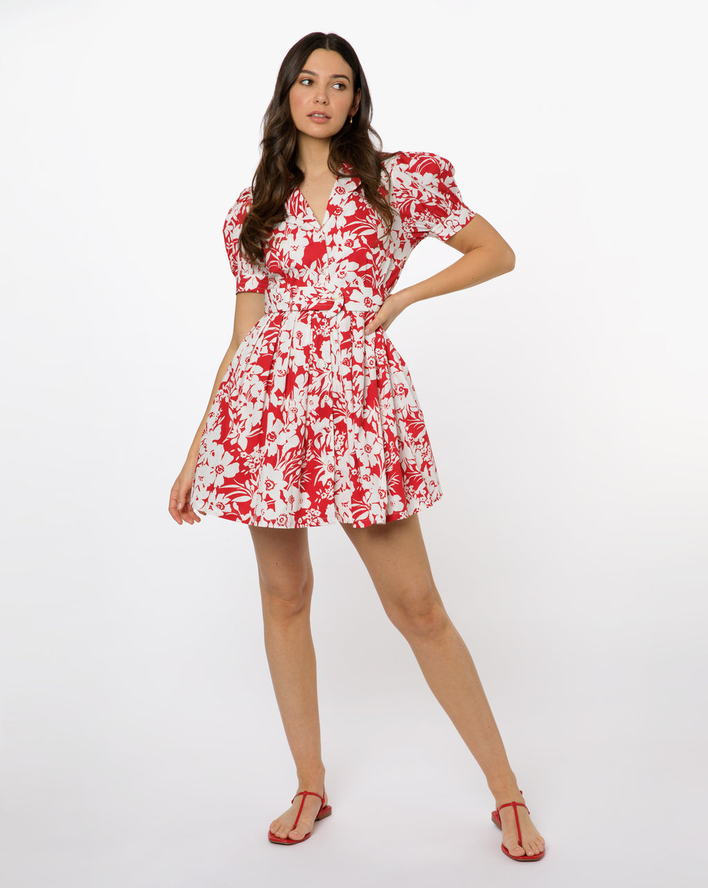 Finley Dress - Magnolia Ruby