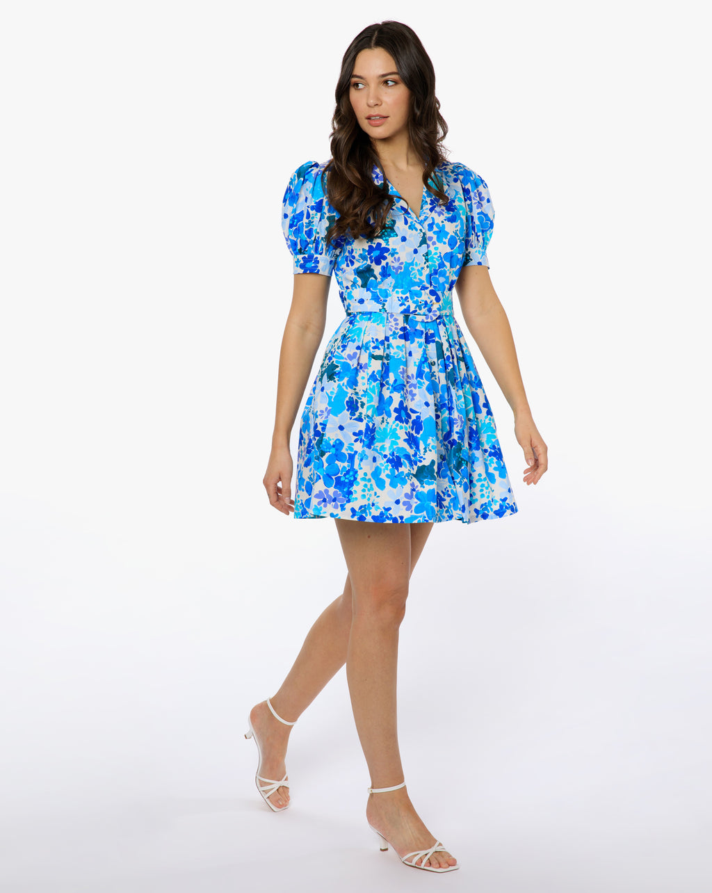 Finley Dress - Petal Blue