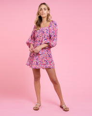 Heather Dress - Pansy Pink