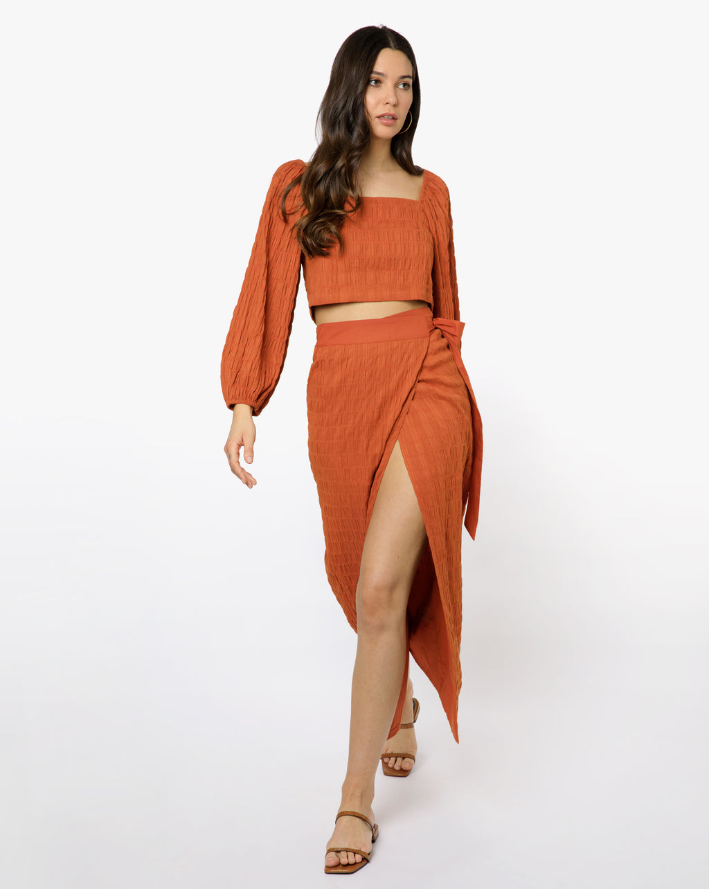 Audrey Skirt - Solid Amber