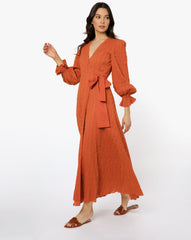 Camilla Dress - Solid Amber